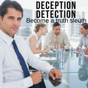 AH Business Psychology provides seminars on deception detection