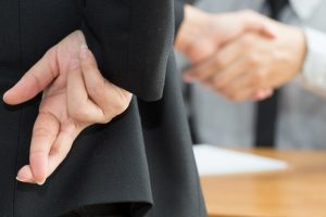 Workplace deception can lead to stress