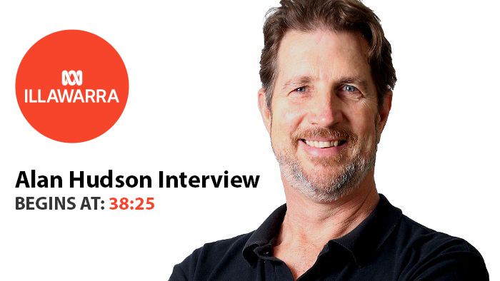 Alan Hudson ABC Illawarra Interview on Working From Home During the Pandemic